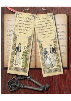 Bookmark - Jane Austen's Pride and Prejudice inspired.