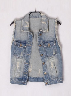 Product search_Blue Denim Vest with Tassel_udobuy - Fashion Dress with Free Shipping