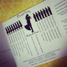 Unique Wedding Programs when-two-become-one-3