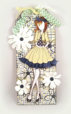 Prima Doll Stamp Tag |                                  Wendy Schultz - Tags.