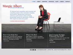 margiealbert.com - Another project with Park, they supplied original design and I took it from there.