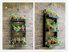 How to make DIY wooden wall planter step by step tutorial instructions