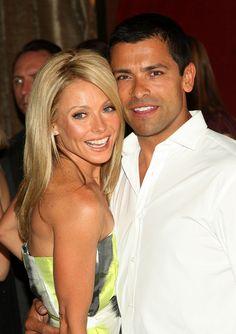 Kelly Ripa & Mark Consuelos. Love them!