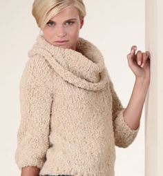 PULL DISTINCTION Gypse - Modèles tricot femme - Phildar