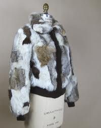 rabbit fur jacket - Everyone who was anyone wore one of these!