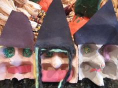 Egg Box Witches