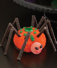 Large Sno Ball Spiders