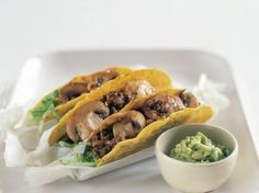 Mushroom and Veggie Tacos
