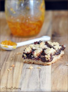 Triple-Jam Chocolate Crumb Bars