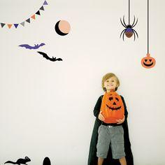 Halloween Creatures Wall Decal
