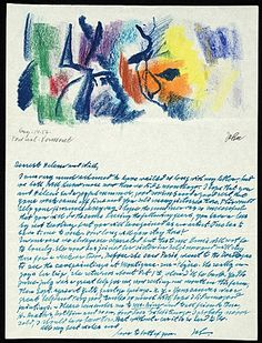John Von Wicht to Will Barnet, Aug. 14, 1956. Will Barnet papers, Archives of American Art, Smithsonian Institution.