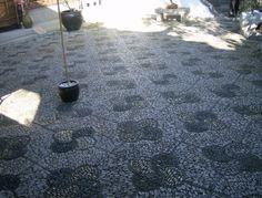 Portland Classical Chinese Garden floor pattern