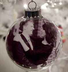 personalized ornament ball