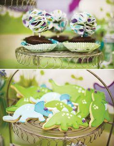 Darling Dino Girly Dinosaur Birthday Party