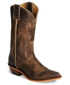 Texas Tech University Red Raiders - new pointed toe cowboy / cowgirl boots with logo