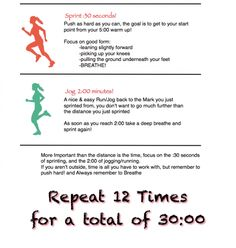 sprint workout, hiit running outside, hiit workout running outside, interval running outside, hiit running workout