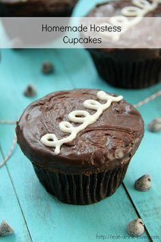 Homemade Hostess Cupcakes