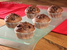 Muffin con gocce di cioccolato | Cookaround