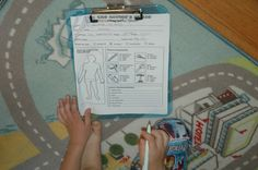 Pretend doctor charts, eye charts and more for dramatic play!  How fun!