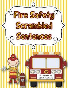 Fire Safety Scrambled Sentences