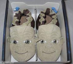 Star Wars Yoda Robeez Baby Shoes!