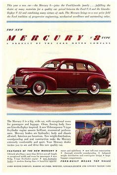 Mercury V8 Ad.