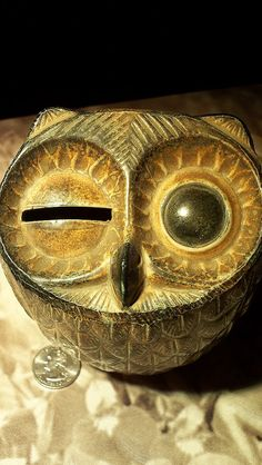 coolest winking owl bank