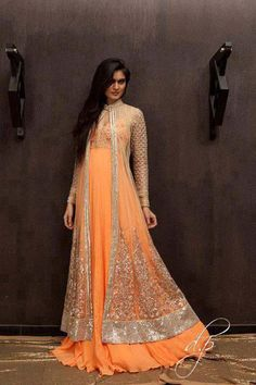 boutiqu, fashion, formal dress, bridal dresses, indian bridal wear, outfit, oranges, indian style, peaches