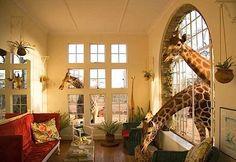 The Giraffe Manor, Nairobi, Africa!
