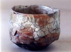 Raku Tea bowl - Paul Soldner