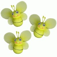 wall decor...mini bumble bees