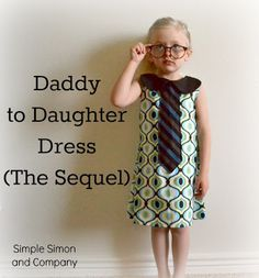 Someday Crafts: Little Girl Tie Dress