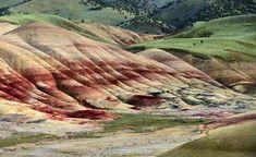 Multi Color Hills - John Day Fossil Beds National Monument Oregon