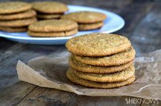Gluten-free soft ginger cookies for SheKnows.com