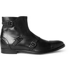 Alexander McQueenBuckled Leather Boots