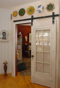 old door re-purposed