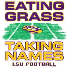 Les Miles and his grass!