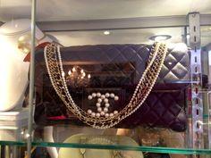 Vintage #Chanel Flap Bag. #Flapbag #boybag #luxury #vintage