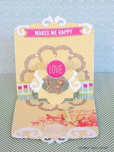 Blog Project by @Gerry Van Gent  http://sizzixukblog.blogspot.co.uk/2013/07/a-love-card-by-gerry-van-gent.html