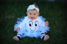 Baby Halloween Tutu Costume - Ghost