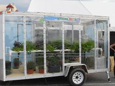 cool mobile green house