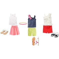 """Little Girls Fashion"" by golftc on Polyvore"