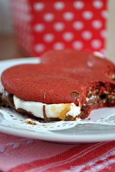 Red Velvet Nutella S'mores