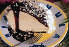 """That [Duke's] Hula Pie dessert you had in Hawaii? Here's the recipe."" -- Pretty simple macadamia nut ice cream pie recipe on page 2 at the click-through."
