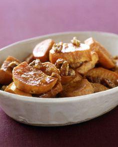 Butter-Pecan Sweet Potatoes - Martha Stewart Recipes
