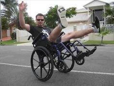 Wheelchair Stunts