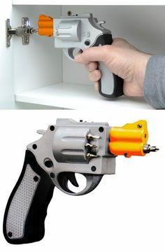 Pistol screwdriver Just seems so natural