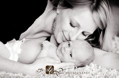 Lovely ......mother and daughter - I want a pic like this too!