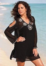 Classy swimsuit coverup