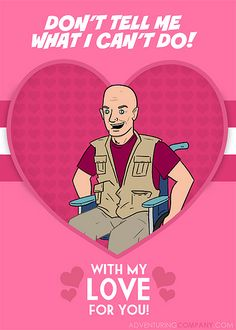 LOST Valentine Cards- John Locke